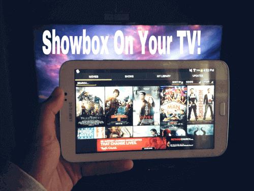 showbox to chromecast free