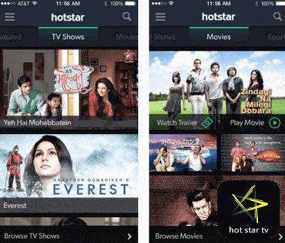 hotstar app films